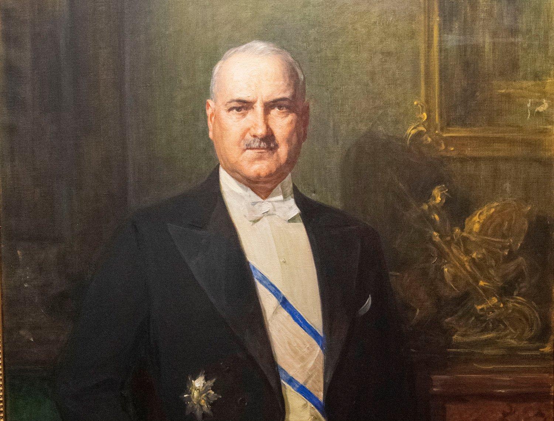 Vlada Ilić, portret Paje Jovanovića u Muzeju Grada Beograda, Foto: Privatna arhiva